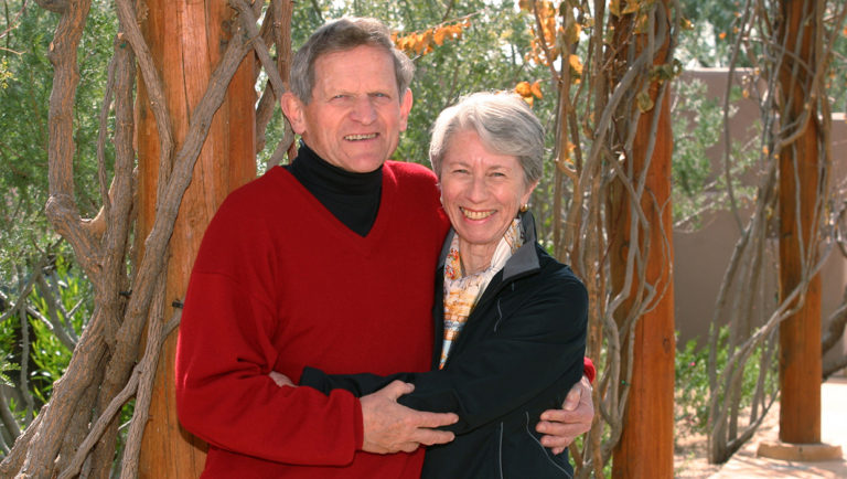 John and Tashia Morgridge