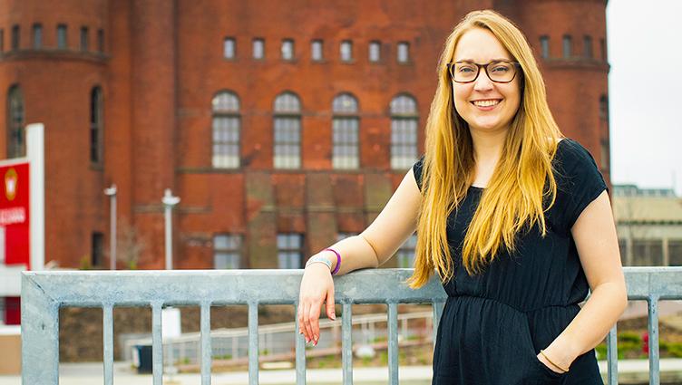 Community-based Learning intern Jenny Torner