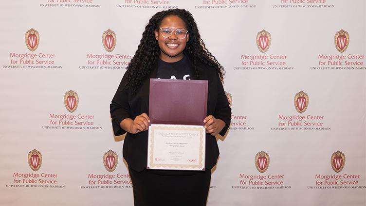 Civic Engagement Undergraduate award