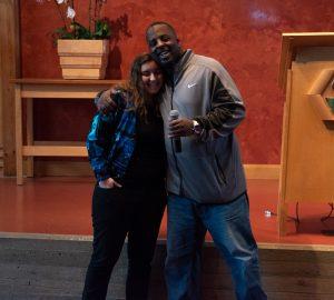 Mackenzie Berry with Aaron Hicks