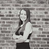 Haley Sisel, 2020 Peter Bosscher Undergraduate Award recipient
