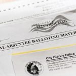 Official absentee ballot materials for the city of Madison.