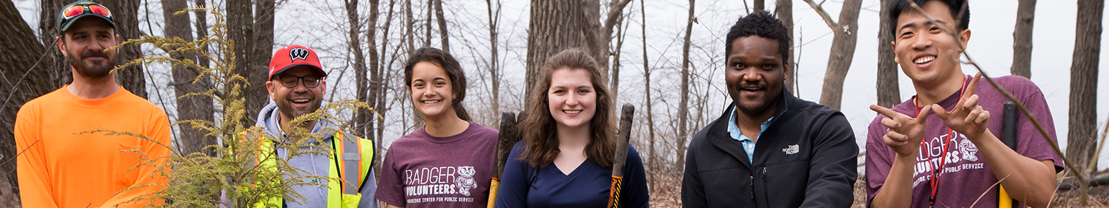 Badger Volunteers at Shorewood Hills