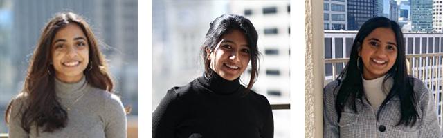 WIF Fellow 21-22 Amita, Anusha and Vaish